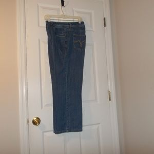 Just My Size Blue Denim Bootcut Jeans